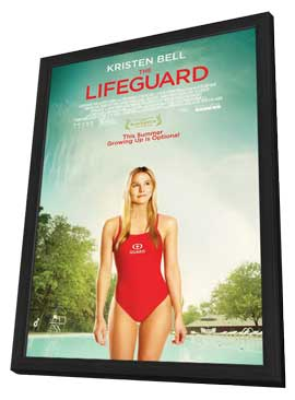 The Lifeguard - 27 x 40 Movie Poster - Style A - in Deluxe Wood Frame