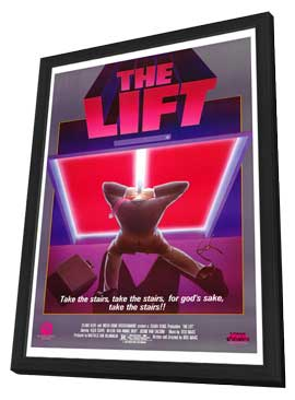The Lift - 11 x 17 Movie Poster - Style A - in Deluxe Wood Frame