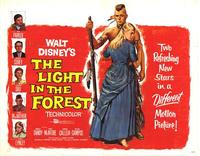 The Light in the Forest - 22 x 28 Movie Poster - Half Sheet Style A