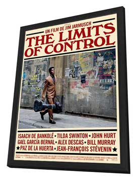 The Limits of Control - 27 x 40 Movie Poster - French Style A - in Deluxe Wood Frame