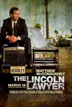 The Lincoln Lawyer - 27 x 40 Movie Poster - Style A
