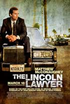 The Lincoln Lawyer - 43 x 62 Movie Poster - Bus Shelter Style A