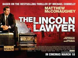 The Lincoln Lawyer - 11 x 17 Movie Poster - UK Style A