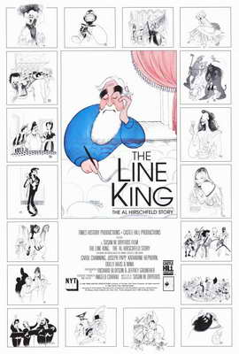 The Line King: The Al Hirschfeld Story - 27 x 40 Movie Poster - Style A