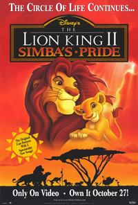 The Lion King II: Simbas Pride - 27 x 40 Movie Poster - Style A