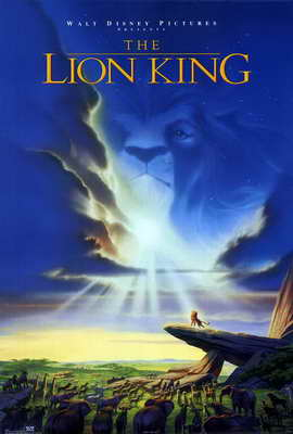 Lion King, The - 27 x 40 Movie Poster