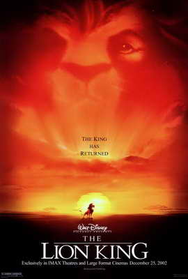Lion King, The - 27 x 40 Movie Poster - Style A