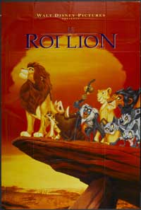Lion King, The - 27 x 40 Movie Poster - French Style A
