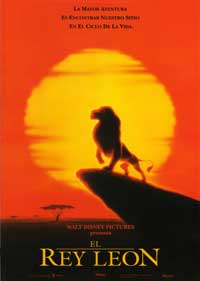 Lion King, The - 27 x 40 Movie Poster - Spanish Style A