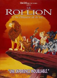Lion King, The - 27 x 40 Movie Poster - French Style B