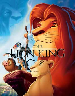 Lion King, The - 27 x 40 Movie Poster - UK Style A
