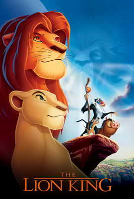 Lion King, The - 27 x 40 Movie Poster - Style F