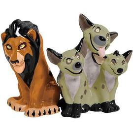 Lion King, The - The Scar and Hyenas Salt & Pepper Shakers
