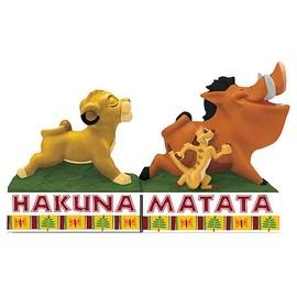 Lion King, The - Hakuna Matata Salt and Pepper Shakers