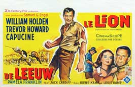 Lion, The - 27 x 40 Movie Poster - Belgian Style A