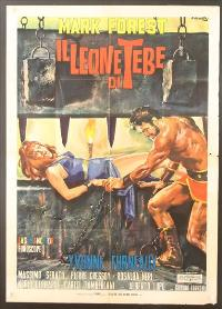 The Lion of Thebes - 11 x 17 Movie Poster - Style A