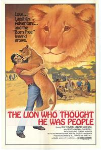 The Lion Who Thought He Was People - 11 x 17 Movie Poster - Style B