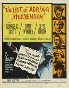 The List of Adrian Messenger - 27 x 40 Movie Poster - Style B