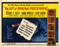 The List of Adrian Messenger - 22 x 28 Movie Poster - Half Sheet Style A