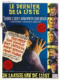 The List of Adrian Messenger - 11 x 17 Movie Poster - Belgian Style A