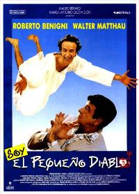 The Little Devil - 27 x 40 Movie Poster - Spanish Style A