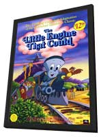 The Little Engine That Could - 11 x 17 Movie Poster - Style A - in Deluxe Wood Frame