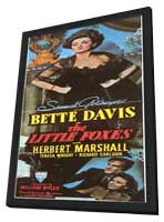 The Little Foxes - 11 x 17 Movie Poster - Style A - in Deluxe Wood Frame