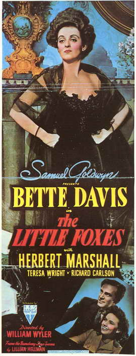 The Little Foxes - 11 x 17 Movie Poster - Style A