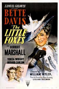 The Little Foxes - 27 x 40 Movie Poster - Style B