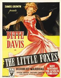 The Little Foxes - 11 x 17 Movie Poster - Australian Style A