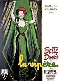 The Little Foxes - 11 x 17 Movie Poster - French Style A
