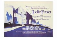 The Little Girl Who Lives down the Lane - 27 x 40 Movie Poster - Style B
