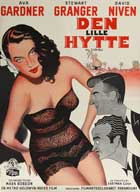 The Little Hut - 27 x 40 Movie Poster - Danish Style A