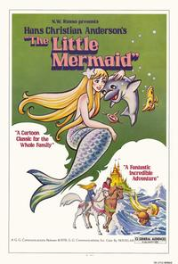 The Little Mermaid - 27 x 40 Movie Poster - Style A