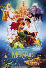 Little Mermaid, The - 27 x 40 Movie Poster - Style D