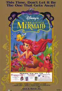 Little Mermaid, The - 27 x 40 Movie Poster - Style E