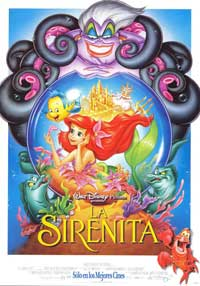 Little Mermaid, The - 27 x 40 Movie Poster - Spanish Style A