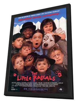 The Little Rascals - 27 x 40 Movie Poster - Style A - in Deluxe Wood Frame