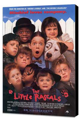 The Little Rascals - 27 x 40 Movie Poster - Style A - Museum Wrapped Canvas