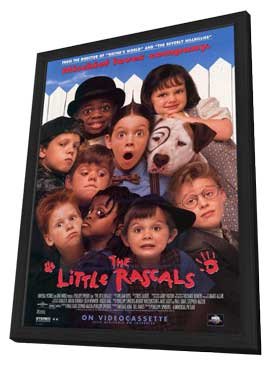 The Little Rascals - 11 x 17 Movie Poster - Style A - in Deluxe Wood Frame
