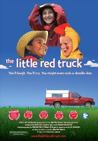 The Little Red Truck - 43 x 62 Movie Poster - Bus Shelter Style A