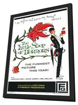 Little Shop of Horrors - 11 x 17 Movie Poster - Style A - in Deluxe Wood Frame