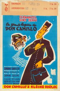 The Little World of Don Camillo - 11 x 17 Movie Poster - Belgian Style A