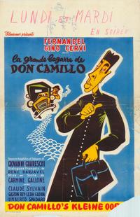 The Little World of Don Camillo - 27 x 40 Movie Poster - Belgian Style A