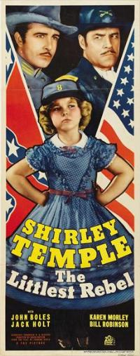 The Littlest Rebel - 14 x 36 Movie Poster - Insert Style A