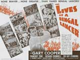 The Lives of a Bengal Lancer - 22 x 28 Movie Poster - Half Sheet Style B