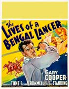 The Lives of a Bengal Lancer - 22 x 28 Movie Poster - Half Sheet Style C