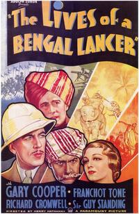 The Lives of a Bengal Lancer - 11 x 17 Movie Poster - Style A