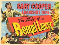The Lives of a Bengal Lancer - 27 x 40 Movie Poster - Style B