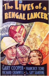The Lives of a Bengal Lancer - 43 x 62 Movie Poster - Bus Shelter Style A